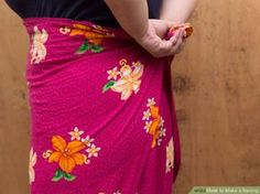 How to Make a Sarong: 14 Steps (with Pictures) - wikiHow