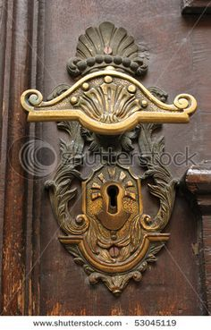 Vintage door knobs are a must.