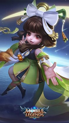 Chang e, younger sister of zilong