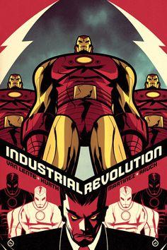 Marvel Comics Cover Art by Juan Doe, via Behance