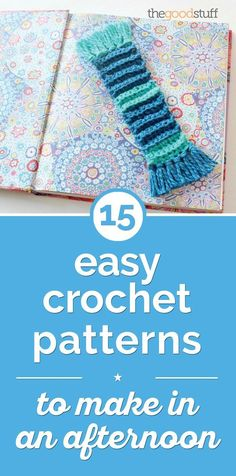 15 Easy Crochet Patterns to Make in an Afternoon