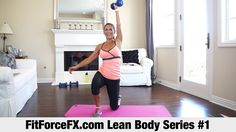 FitForceFX.com Lean Body Series: HIIT Workout #1