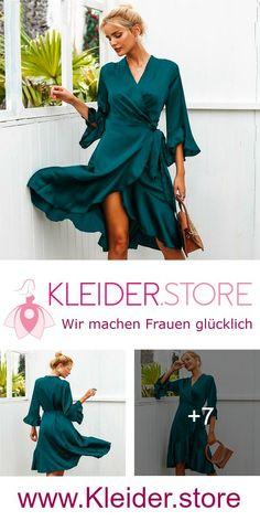 Sommerkleider Knielang Mit Ärmel günstig Online kaufen – jetzt bis zu -87%  sparen!   Kleider bis zu -87% günstiger Online kaufen 92d2eea1a0