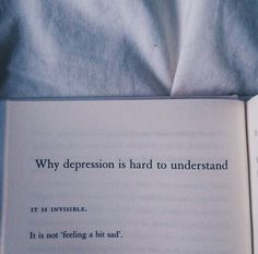 M(art)ens : Foto Why depression is hard