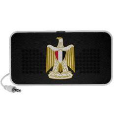 Egyptian coat of arms Speaker Travelling Speaker