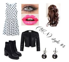 """""""(Y/N) style #4"""" by the-super-cool-muggle ❤ liked on Polyvore featuring WithChic, Zara and Christian Dior"""