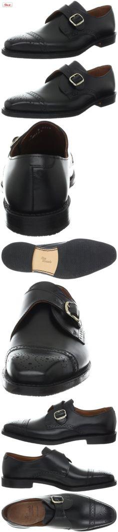 Allen Edmonds Men's Franciscan Oxford,Black,8.5 D US, Allen Edmonds blends traditions with wingtip details and a classic monk strap., #Apparel, #Oxfords