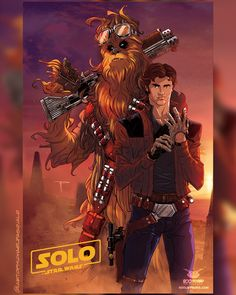 The Art of Michael Pasquale Star Wars Fan Art, Han Solo And Chewbacca, Comic Movies, Comic Books, Star Wars Collection, Science Fiction, Sci Fi, Starwars, Artwork