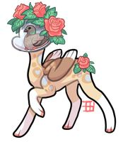 90T Terramind Pidgeon/roses by griffsnuff