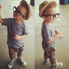 stylish baby boy