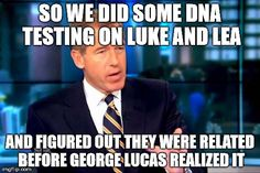 Brian Williams made his career on scooping the truth about Star Wars - Imgur