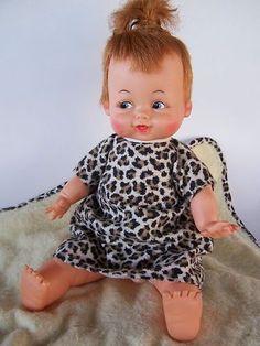 1963  Pebbles Flintstone Doll
