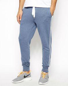 latest design fleece fabric sweat pants for men with side stripe, View fleece pants, EMK Product Details from Nanchang EMK Garment industrial Co., Ltd. on Alibaba.com