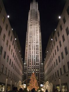 Rockefeller Center and the Famous Christmas Tree,Rink and Decoration, New York City, New York Photographic Print by Taylor S. Kennedy - AllPosters.co.uk