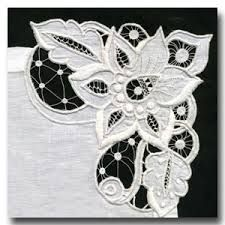 """Résultat de recherche d'images pour """"machine embroidery   daffodil machine embroidery design in free standing lace technique."""""""