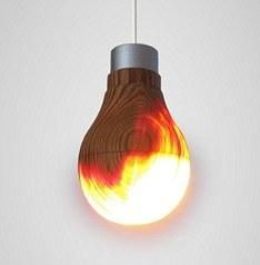 Wooden lightbulb is no Jedi Mind Trick | Ubergizmo