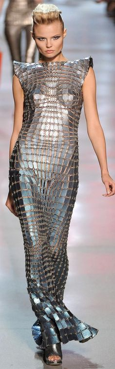 Manish Arora for Paco Rabanne Repinned by www.fashion.net
