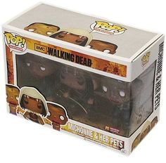 Funko P.O.P Television Walking Dead Michonne and Her Pets Zombies (3-Pack) by Diamond Comic Distribu @ niftywarehouse.com #NiftyWarehouse #Geek #Horror #Scary #Halloween