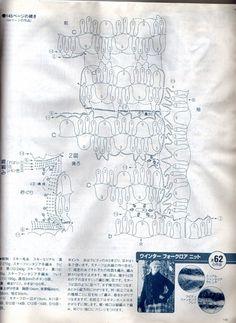 Ivelise Feito à Mão: Blusa De Manga Longa Em Crochê De Grampo