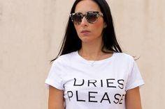 Post from Blog Moda Valencia Tendencias - Letters Print T-shirt