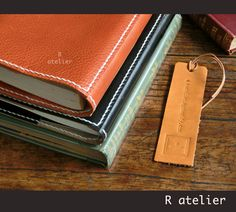 $35+   R.atelier Hobonichi Cover   Leather Journal Cover  #HobonichiPlanner #HobonichiA5 #HobonichiWeeks #leathercover #leatherjournal #leathergifts #hobonichicover #journaling