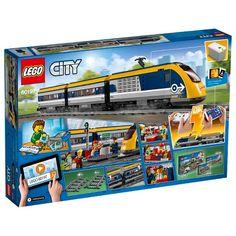 Buy LEGO City 60197 Passenger Train from our Construction Toys range at John Lewis & Partners. Free Delivery on orders over Lego City Train, Lego Trains, Service Map, Train Service, Legos, Minifigures Lego, Lego Boxes, Train Platform, Buy Lego