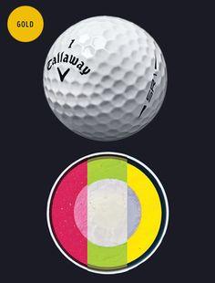 2015 Hot List: Golf Balls | Golf Digest CALLAWAY SPEED REGIME 1/2/3  PRICE: $48 DOZEN   Each of the three models has an aerodynamic design for a specific swing-speed range. PERFORMANCE: ★★★★½  INNOVATION: ★★★★★  FEEL: ★★★★½  DEMAND: ★★½