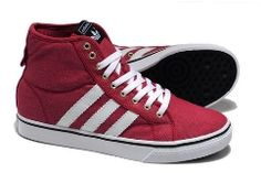 Adidas Clover Nizza High Top CL For Men Red White