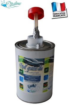 Graisse aluminium haute température 600°C en pot avec pinceau - OPAL GRAISS ALU