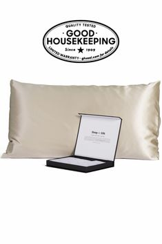 Gold or White Save My Face LeGrand PillowCASE Silky Satin Brown NEW Authentic