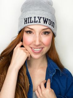 Hillywood Grey Beanie | The Hillywood Shop