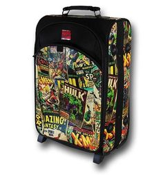 Marvel Wheeled Trolly Suitcase; I WANT IT SO BAD
