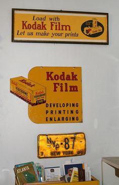 Vintage Kodak film signs | Flickr - Photo Sharing!