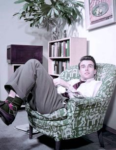 Find yourself some argyle socks and a crazily upholstered chair if you want to be a hipster.