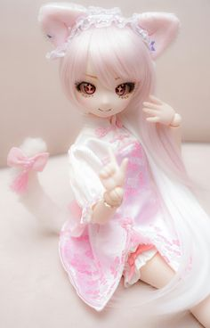 Tv Anime, Anime Plus, Anime Chibi, Kawaii Anime, Pretty Dolls, Beautiful Dolls, Kawaii Doll, Dream Doll, Polymer Clay Dolls