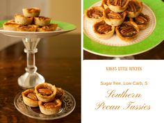 Sugar Free Southern Pecan Tassies  (LowCarb, S)