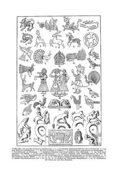 Free Clip Art and Digital Collage Sheet - Magyar Ornament Hungarian Embroidery, Folk Embroidery, Embroidery Stitches, Embroidery Patterns, Embroidery Techniques, Ancient Symbols, Ancient Art, Ethnic Patterns, Simple Art