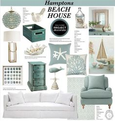 Coastal Style: Inspiration in Seafoam