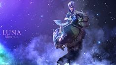 Luna - Moon Rider Dota 2 Wallpaper