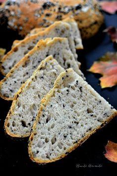 Pâine de secară cu chimen negru Food And Drink, Gluten, Healthy Recipes, Bread, Fitness, Home, Healthy Food Recipes, Healthy Eating Recipes, Keep Fit