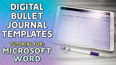 DIGITAL BULLET JOURNAL TEMPLATES in WORD: TUTORIAL & DOWNLOADS https://youtu.be/T_Tk24Ib1dQ  This video covers how to create templates for a digital bullet journal for use with Noteshelf 2 (but this could be applied to Goodnotes or Notability!)  but the catch? Im using Microsoft Word instead of my trusty Adobe InDesign. This also includes a mini-tutorial on how to find what size your documents should be in your digital bullet journal!  DOWNLOAD THE TEMPLATES  https://ift.tt/2r3oH2f…