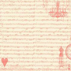 sheet music collage