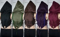 Steampunk large hoodie vest velvet Fata by fairyU on Etsy