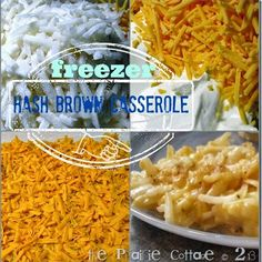 the prairie cottage: Day 13… Freezer Cheesy Hashbrown Casserole (Funeral Potatoes)