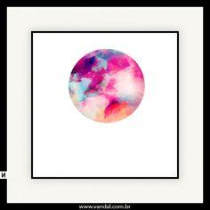 geometria, círculo, rosa, roxo, azul