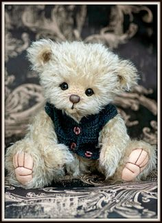 this is such a cute smart teddy i will call him benny