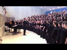 Watch as Mr. Josh Pedde warms up the Indianapolis Children's Choir Bel Canto and Cantantes Angeli choirs prior to the 2011 Angels Sing concert.