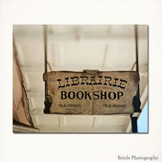 """French Quarter Book Sign, Librairie Bookshop, New Orleans Wall Art. 8""""x10"""" Photo Print. Home Decor on Etsy, $30.00"""