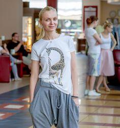 Olga Borys w koszulce Smallbig