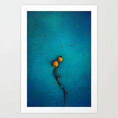 yellow Art Print by Claudia Drossert - $20.80